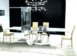 modern glass dining tables sydney contemporary room sets kitchen modern