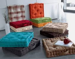 Simple Box Floor Pillows Cushions Best Design For Room With Concept Ideas