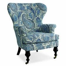 Paisley Sofa mary blue & white paisley wing chair living room pinterest 1127 by uwakikaiketsu.us