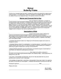 waver form pilates waiver form butterfly pilates