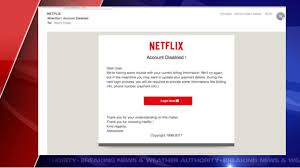 Phishing Scam Scam Alert Watch For Netflix Phishing Scam Through Email
