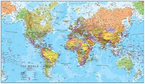 Map Of The World Background 32715532 Map Of New Zealand With Flag On A World Background For