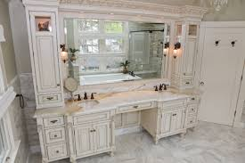 country bathroom double vanities. Large White Wooden Vanity With Storage And Drawers Completed Double Also Make Up Table Country Bathroom Vanities R