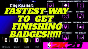 Nba 2k20 best finishing badges