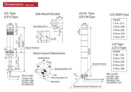 patlite signal tower wiring diagram wiring diagram user patlite wiring diagram wiring diagram centre lce 402fb rygb lce series 40mm led signal tower patlite
