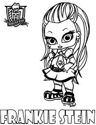 Small Picture Free Baby Monster High Coloring Pages Coloring Home