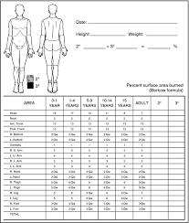 Lund Browder Classification Definition Of Lund Browder
