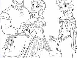Disney Frozen Elsa Frozen Coloring Pages