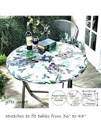 round vinyl tablecloth with elastic fitted tablecloths oval wi