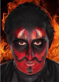 pix for devil makeup for men