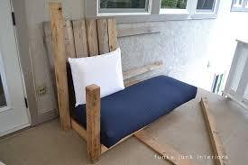 cool pallet furniture. How I Built The Pallet Wood Sofa (part 2) Via Funky Junk Interiors Cool Furniture