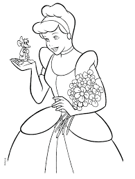 cinderella coloring pages disney free coloring pages