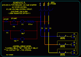 basic start stop ac motor control schematics ecn electrical forums schematic 3 wye delta reduced voltage start stop motor control