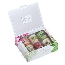 yankee candle gift set candle pure essence 6 votive gift set yankee candle gift sets tesco yankee candle gift set