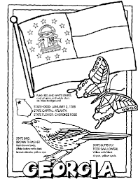 Small Picture Georgia USState Coloring Page crayolacom