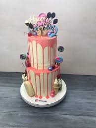 Birthday Cake Ice Cream And Candy Theme By Naime Cake Phivi