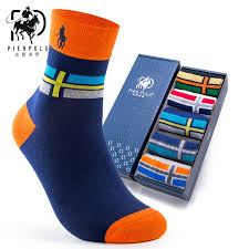 <b>PIER POLO</b> men's business brand socks <b>autumn</b> and winter cotton ...