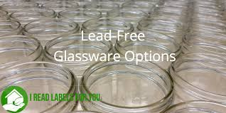 lead free glassware options