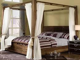 Image of: Contemporary Poster Bed