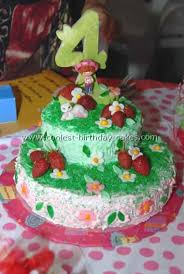 Strawberry Shortcake Birthday Cake Food And Drink Pictures