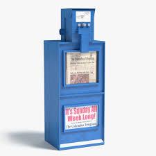 Newspaper Vending Machine For Sale Amazing Newspaper Machine 48d Max
