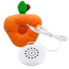 Ipod Pillow Mini White 35mm Pillow Speaker Universal For Mobile Phone Mp3 Mp4