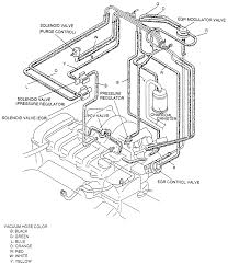 8 vacuum hose routing diagram for the 1993 94 626 mx 6 with the 2 0l engine except 1994 california