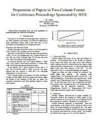 Ieee Template For Paper Presentation Paper Presentation In Ieee