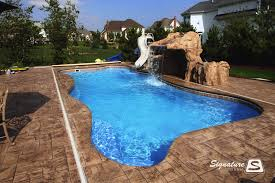 Fiberglass Swimming Pool Designs Custom Design