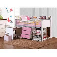 charleston storage loft bed with desk natural instructions 46 girls twin loft bed charleston storage loft