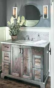 stained bathroom vanity painting wood designs contemporary with dark gray photos pillar 1