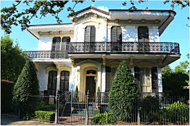 Garden District New Orleans In The Lower Garden District Of