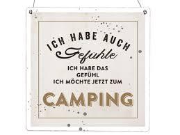 Xl Holzschild Vintage Shabby Ich Habe Auch Gefühle Camping Camper