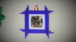 latest diy photo frame easy to make made with colorful paper