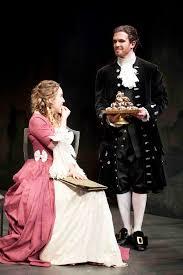 rock me amadeus fine arts research constanze samantha lynch is tempted by salieri jenson kerr in phoenix theatre s