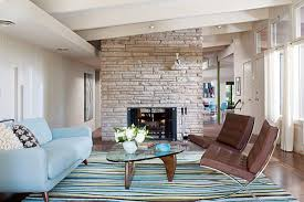 Light Blue Living Room Living Room Gray Benches Gray Sofa White Chaise Lounges White