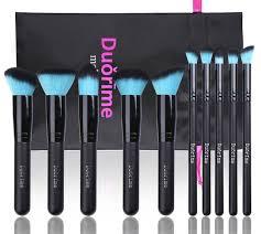 style master 10pcs black makeup brush set
