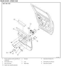 2008 altima fuse box diagram 2008 manual repair wiring and engine nissan versa door diagram