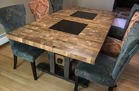 unique kitchen furniture. Interesting Kitchen Unique Kitchen Table Intended For Dining Room Stunning Set Diy In Custom  Wood Tables Prepare 19 And Furniture