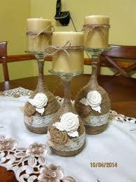 wine glass candle holder wine glass candle holder twine wrapped wine glass candle holder wine glass