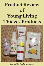 Product Review Of Young Living Thieves Products