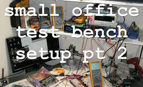office test. acf 002 office electronic test bench part 2 lab tour and future projects youtube