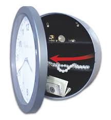 safe in wall clock