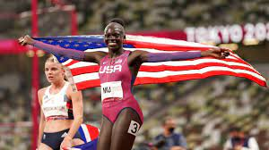 American teen Athing Mu wins gold medal ...