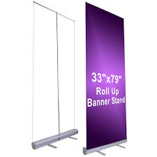 Retractable Display Stands Amazon 100 x 100 Economy Rollup Retractable Banner Stand 3