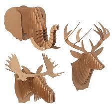 cardboard animal heads 1 thumbnail