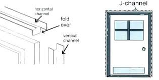 how to install j channel for steel siding metal in