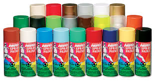 Bosny Spray Paint Color Chart Abro Sp
