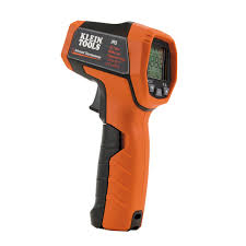 Infrared Gun Light Dual Laser Infrared Thermometer Ir5 Klein Tools For