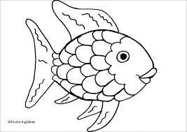 fish coloring pages for preers rainbow fish coloring pages preers goldfish coloring page printable coloring pages